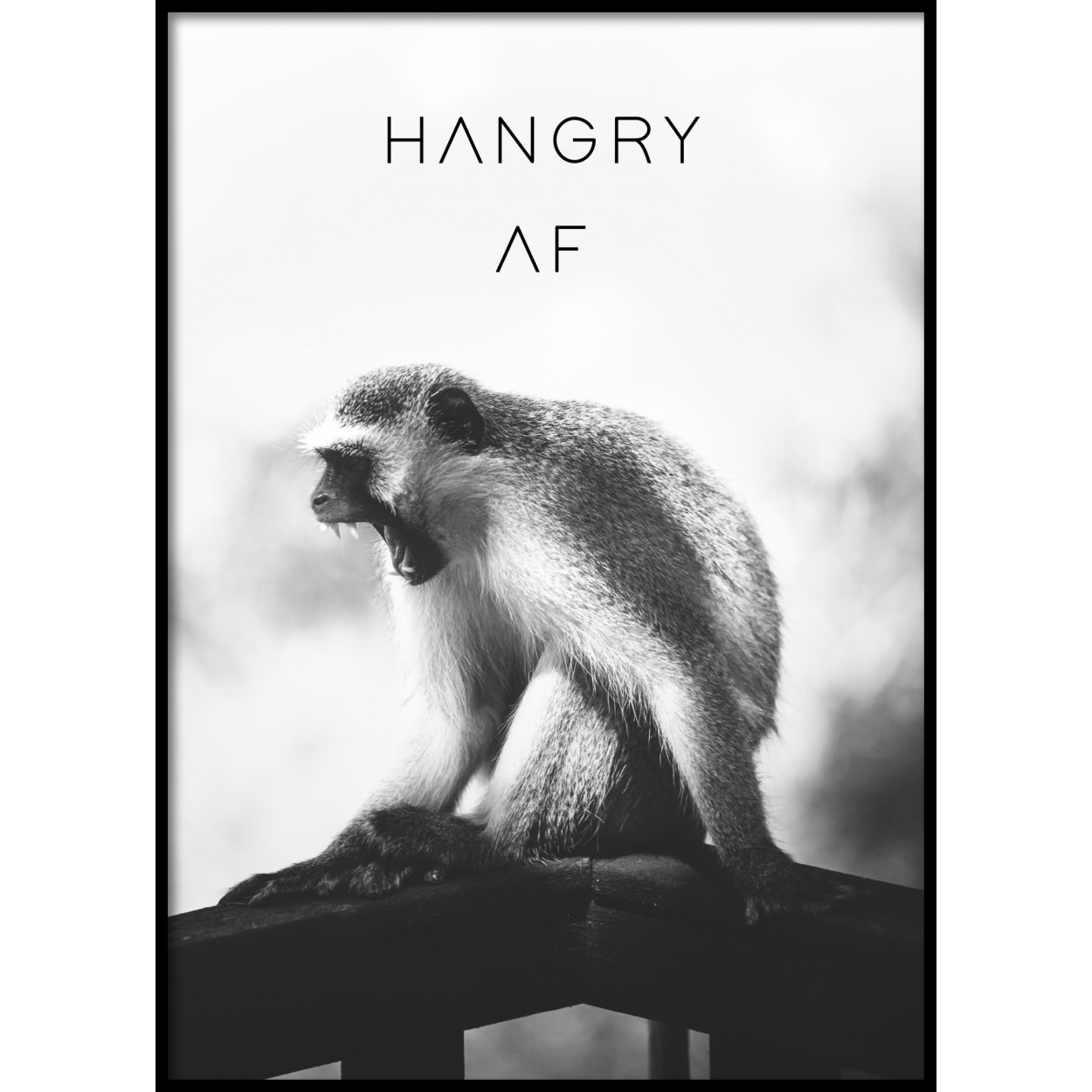 Hangry AF Poster