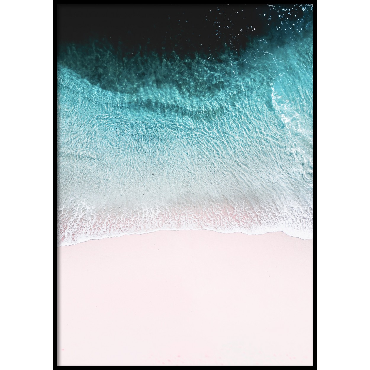 Pink Shore Poster
