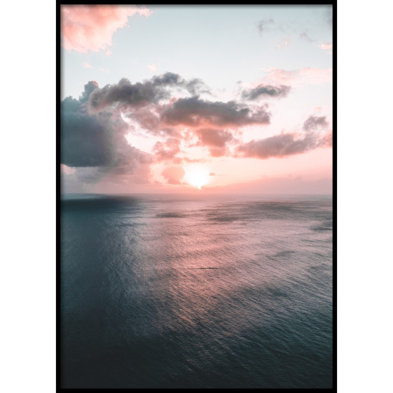 Soft Clouds Poster