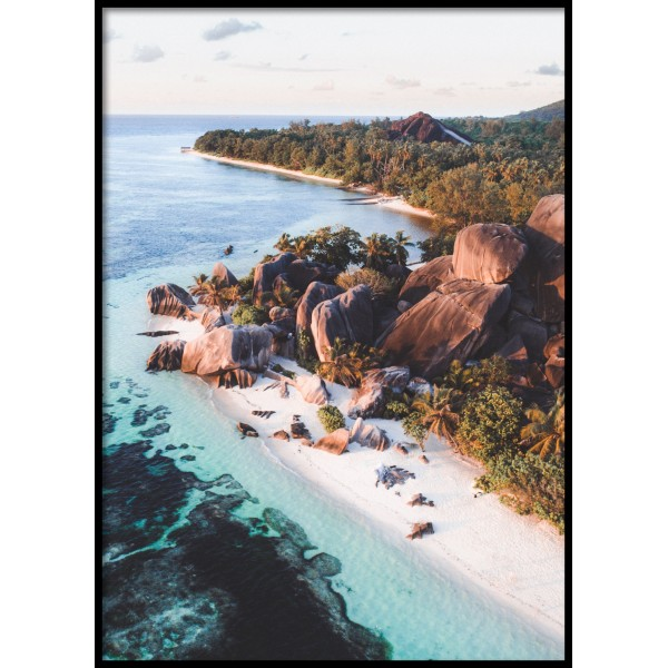 Seychelles View Poster