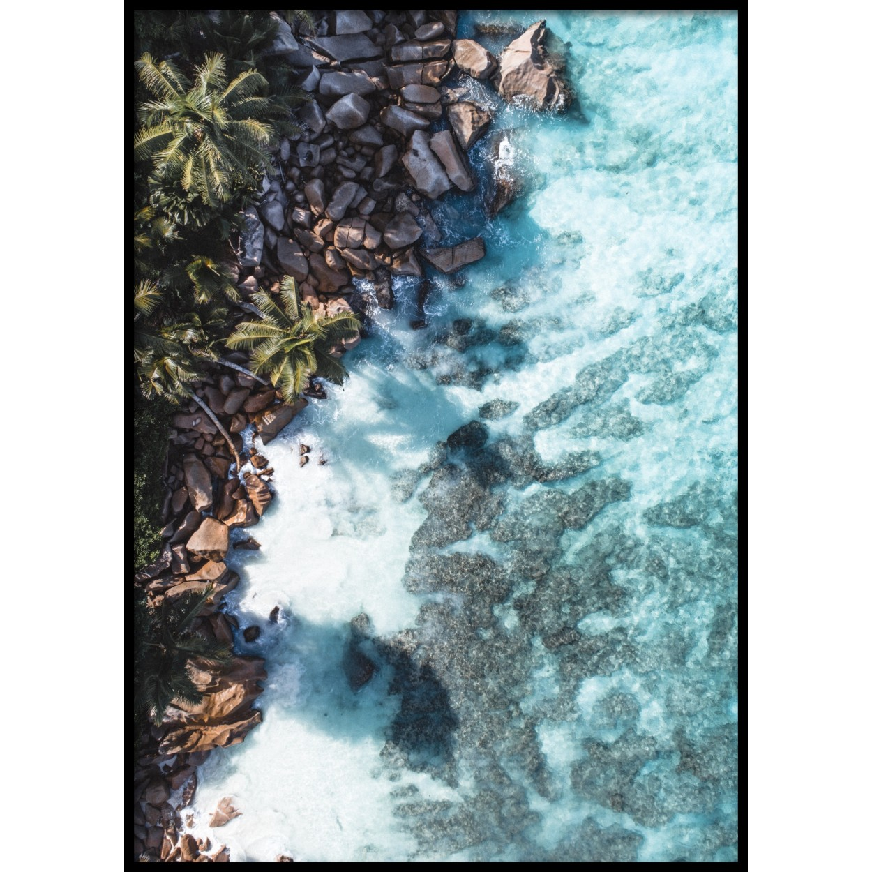 Turquoise Dream Poster