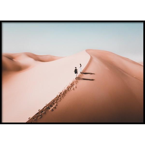 Desert Couple 2.0 Poster