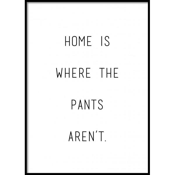 No Pants Poster