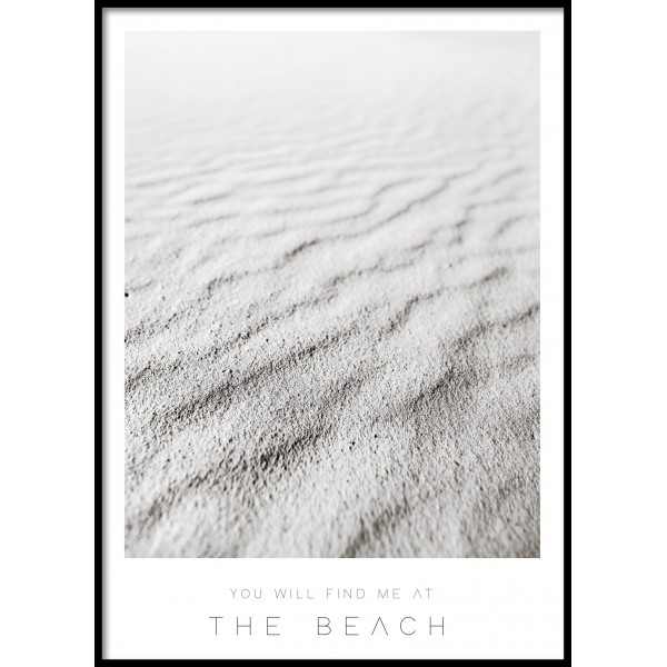 Sand Focus Poster