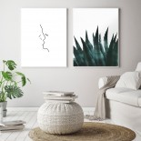 Sunny Cactus Poster