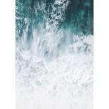 Foamy Shore Poster
