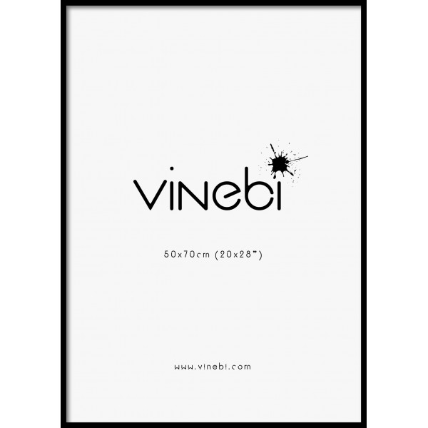 Picture Frame Black 50 x 70 cm